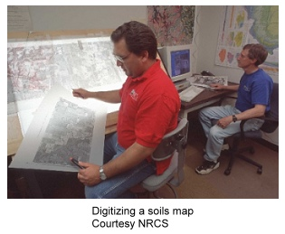 Digitizing Soil Map